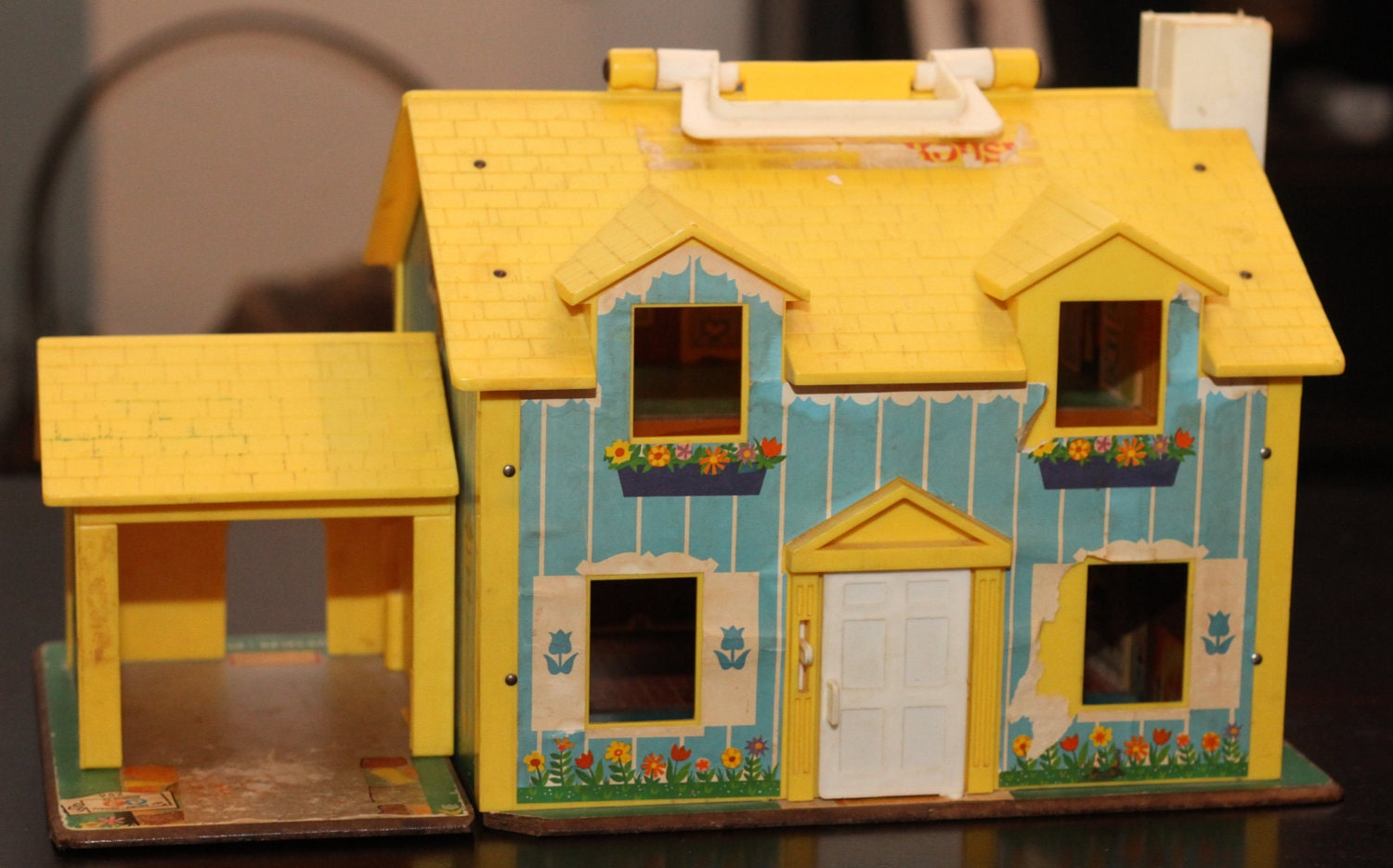 Vintage Fisher Price Little People House 1969 No 952
