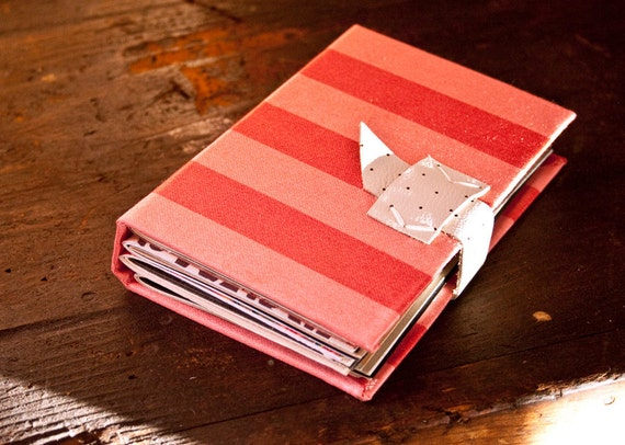 Pink Stripes Notebook