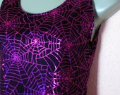 Dress - Medium, Spiderweb, psychobilly, goth, halloween, horror, pink