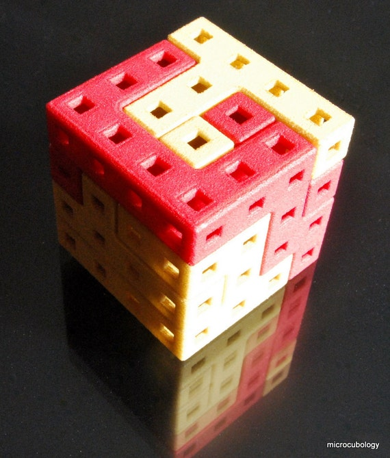 Roll Up, Roll Up -  3.2 cm interlocking puzzle cube