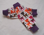 Sweet Deers  Jersey Knit Legwarmers (with light lining inside ) for Babies and Kids Sz 3Mth to 3Years