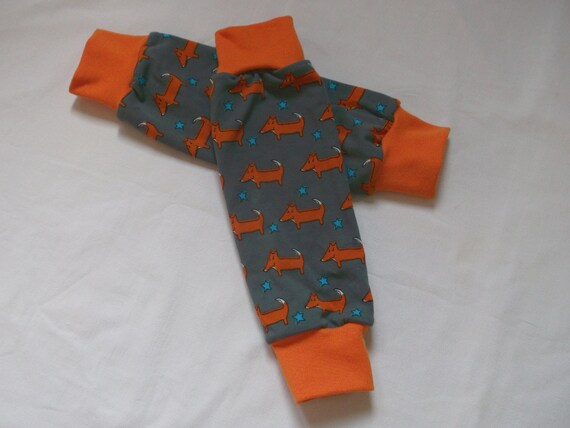 FOX es  little warm lining Jersey Knit Legwarmers for Babies and Kids Sz 3Mth to 3Years