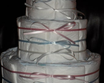 Undecorated Diapercake