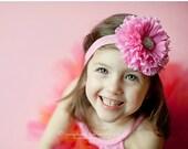 20% off Large Light Pink baby Headband - Baby Girl headbands. Newborn headbands. Infant headbands. Baby hairbows. Birthday Headband