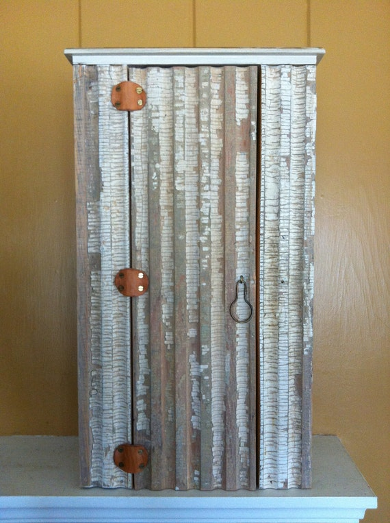 Cupboard Cabinet Made with Reclaimed Wood Great Wall or Table Cupboard Wood from Southern Ohio Farmhouse
