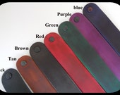1 Leather Cuff Bracelet 1 to 1 1/4th inch Widths and 3 Lengths
