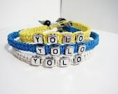 YOLO Bracelets Hemp 3 Pack