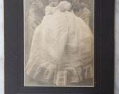 Vintage Photo of Baby in Christening Gown, Lovejoy Philadelphia, 4001