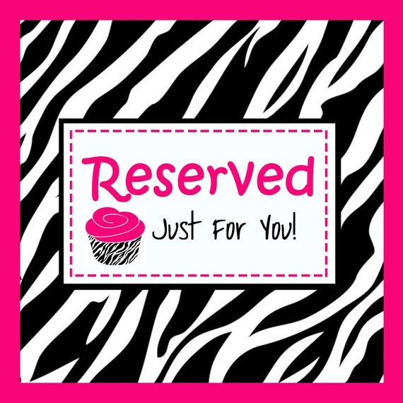 RESERVED LISTING - for A. Rivera