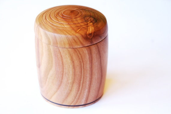 Plum Wood Box