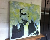 John Coltrane (Pop Art Portrait) SOLD