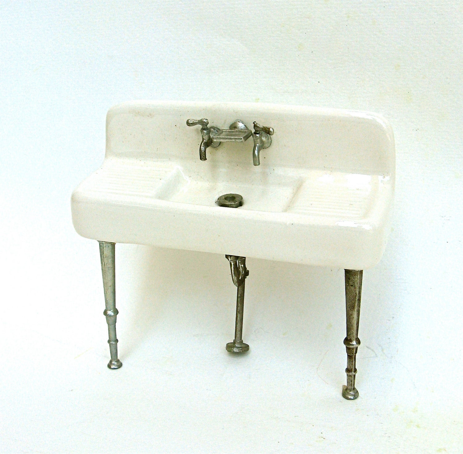 Https Www Etsy Com Listing 80166500 Vintage Miniature Kitchen Sink Porcelain