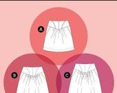 Crescent Skirt Pattern by Sewaholic Patterns