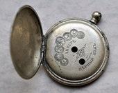 Antique pocket watch case.Imperial Russian era.
