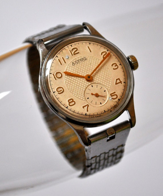 Vintage Soviet Russia wrist watch Wostok.Tchistopol Watch Factory.
