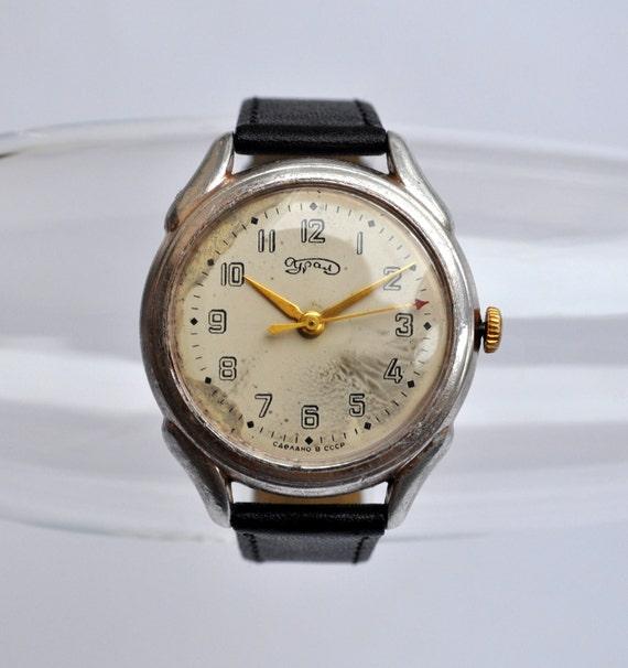 Rare Vintage wrist watch URAL.Tchistopol Watch Factory.