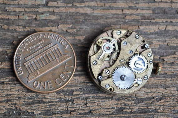 Antique small watch movement.