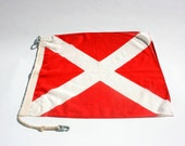 Vintage Nautical Signal Flag