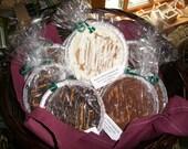 Peanut Butter Crunchy Pie Medium Pot Pie size  Milk Chocolate