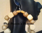 Desert Sand Eternity Hoops