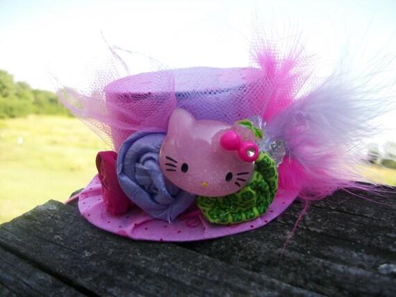 Mini Kitty Top Hat - Birthday - Photo Prop - Party