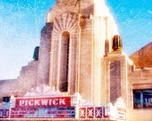 Pickwick Movie Theater - Park Ridge Illinois - Fine Art Photo