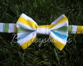 Striped Bow Tie for kids or pets