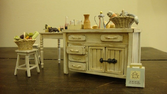Tuscan style kitchen table shabby chic