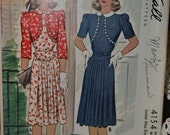 1941 McCall Printed Pattern no. 4154