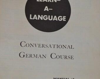 1956 German Lessons on Vinyl LPs