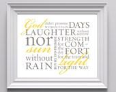 God's Promises 8x10 print