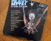 Heavy Metal Motion Picture Soundtrack LP Record 1981