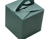 50 Cube Boxes with Handles
