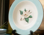 Vintage 1950s Bowl Lifetime China Turquoise