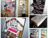 Doll House e-pattern. Store away when not using.