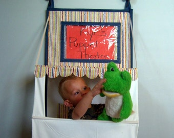 Puppet Theater e-pattern. Store away when not using.