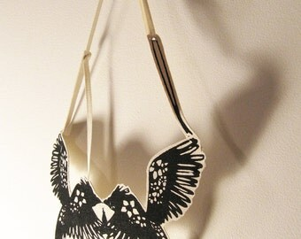 Eagle canvas necklace- 20 dollars off on sale t'll Jan 31, was 79