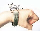 FUTURISTIKA Modern three-dimensional recycled bracelet