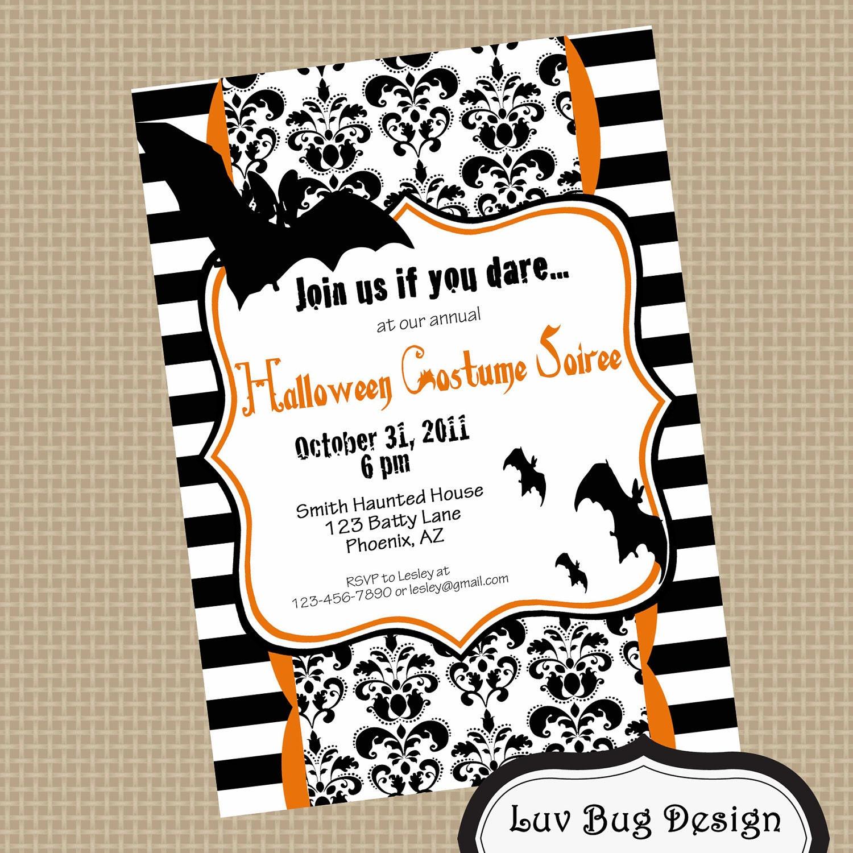 Halloween Costume Party Invitation Wording   alesi.info