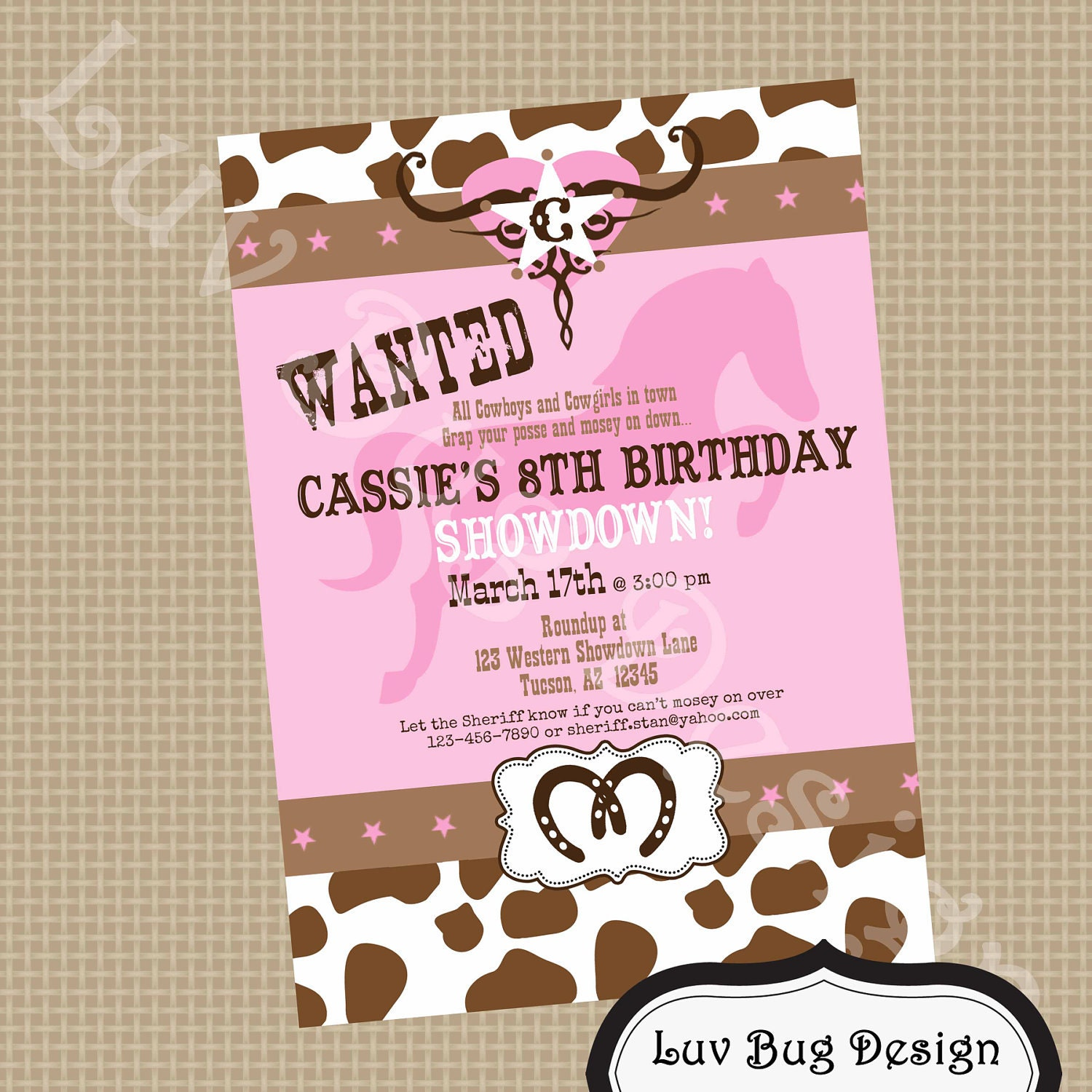 Cowgirl Party Invitations can inspire you to create best invitation template
