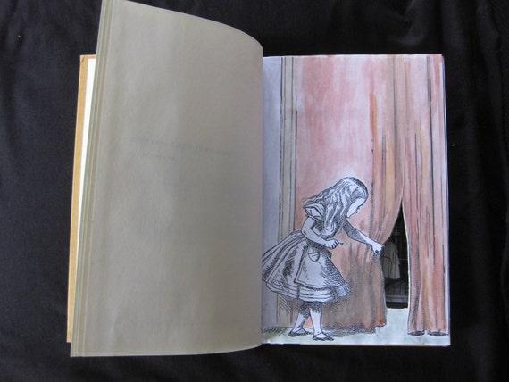 Secret Hollow Book Safe - Alice in Wonderland Theme