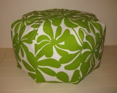 "YOU SEND the Fabric and I Will Sew Your 25 x 25 x 22"" High Pouf Ottoman Cover Designed By You"