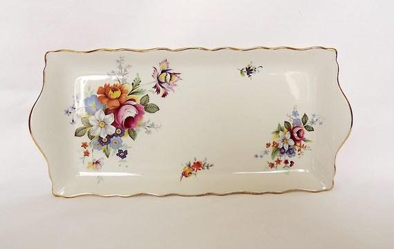 James Kent, Old Foley sandwich tray in Regal design