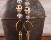 Laughing Skull Earrings
