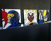 GIANT SIZE X-Men Lego Paintings