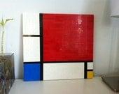 Mondrian Lego Painting