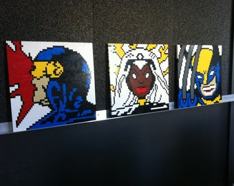 GIANT SIZE X-Men Lego Paintings