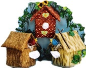 The Original Sneezes Birdhouse Sewing Pattern Tissue Box Cover