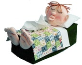 The Original Sneezes Nighty Night Child Sewing Pattern Tissue Box Cover