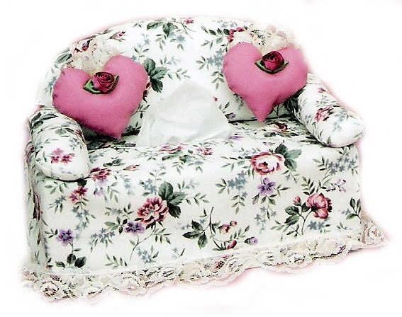 The Orignial Sneezes Sofa Sewing Pattern Tissue Box Cover